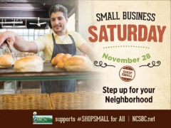 Support Your Local Small Businesses Saturday, November 28